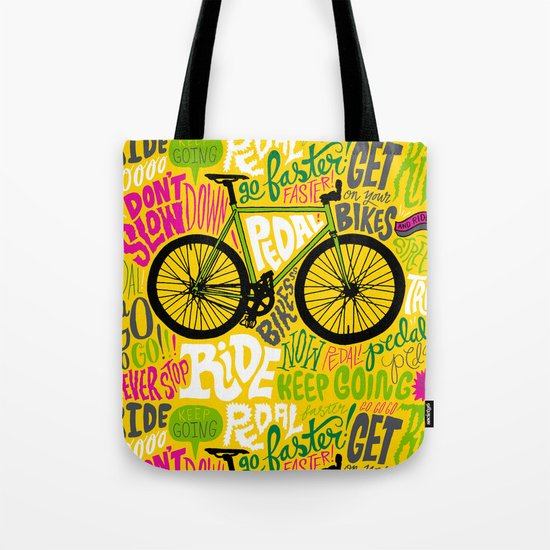 RIDE YOUR BIKES Tote Bag