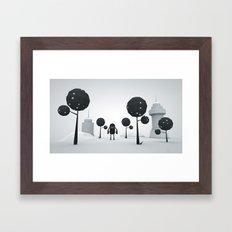 BLK FOREST Framed Art Print