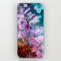 Double Flowers iPhone & iPod Skin