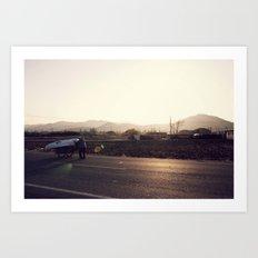Gyeongju Art Print