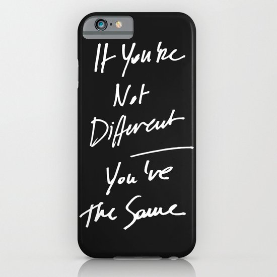 The Same iPhone & iPod Case