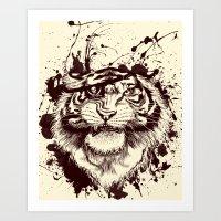 TigARRGH!! Art Print