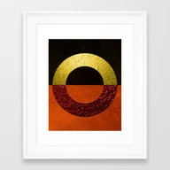 Abstract #112 Framed Art Print