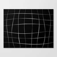 WO black Canvas Print