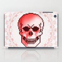 pixel skull iPad Case
