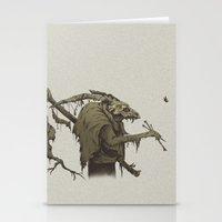 old bones Stationery Cards