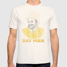 Day Man Mens Fitted Tee Natural SMALL