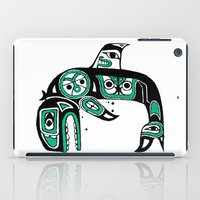 Native American Orca iPad Case