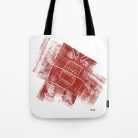 Red Robot! Tote Bag