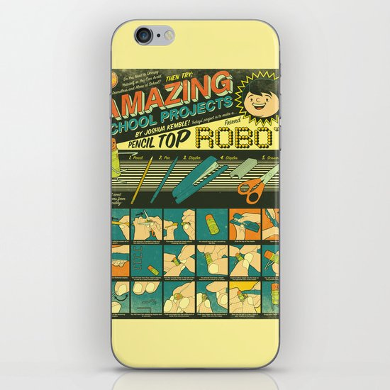 Amazing School Projects iPhone & iPod Skin