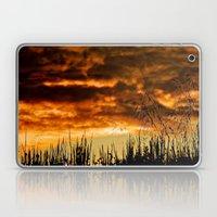 When Storm & Sunset Meet Laptop & iPad Skin