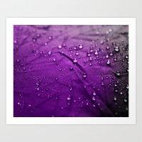 Water Drops! Art Print