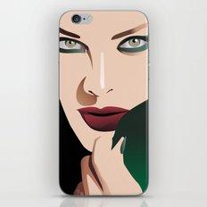 GIRL MAKE UP iPhone & iPod Skin