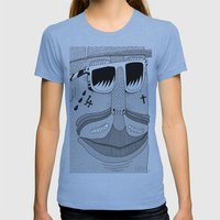 Swag Peso Womens Fitted Tee Athletic Blue SMALL