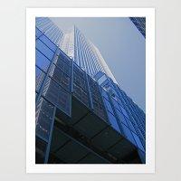 House Of Glass Art Print