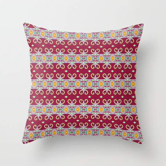 Mix&Match Indian Summer 02 Throw Pillow