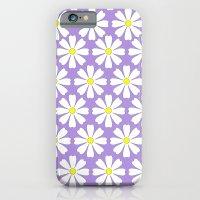 Lilac daisies iPhone 6 Slim Case