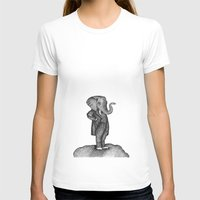 King of the world Womens Fitted Tee White SMALL