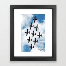 The Snowbirds Framed Art Print
