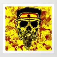 Thrash-Maniac Art Print