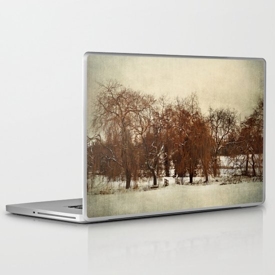 Winter Red Laptop & iPad Skin