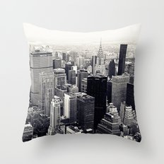 tribute to NYC Throw Pillow
