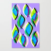Ogee pattern Canvas Print
