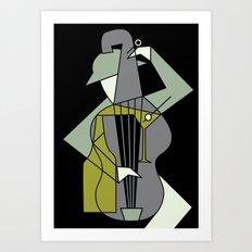 Music&alcohol Art Print