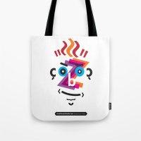 Type Faces No.2: David B… Tote Bag