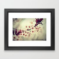 May Flowers Framed Art Print