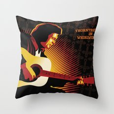 Johnny Cash: ThornTree in a Whirlwind Throw Pillow