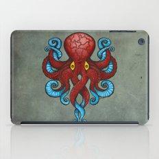 Red Dectopus iPad Case