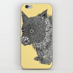 Little Wombat iPhone & iPod Skin