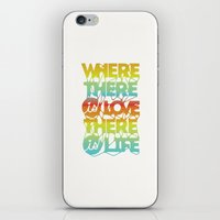 Where There Is Love, The… iPhone & iPod Skin