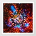 Supernatural Cosmos Art Print