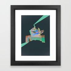 Folktronica Framed Art Print