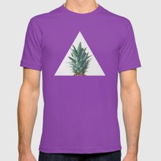 Pineapple Top Mens Fitted Tee Ultraviolet SMALL