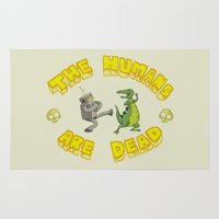 The Humans are Dead Rug