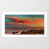Sea and Sky II Art Print