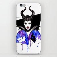 Maleficent iPhone & iPod Skin