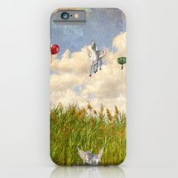 iPhone & iPod Case featuring Pegasus and Balloons by Elaine C Manley