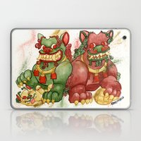 Happy Happy Foo Foo Laptop & iPad Skin