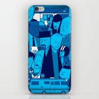 Breaking Bad (blue version) iPhone & iPod Skin