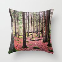 Ruby Sunday Throw Pillow