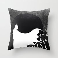 Knight Rising Inverted  Throw Pillow