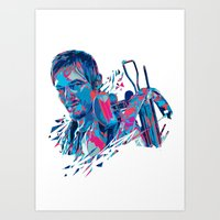 Daryl Dixon // OUT/CAST Art Print