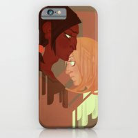 iPhone & iPod Case featuring Ymir and Historia by Dumonchelle Draws