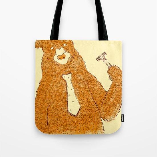 Office Bear Tote Bag
