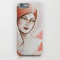 Take the night from me - fashion watercolour iPhone 6 Slim Case