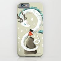 iPhone & iPod Case featuring Dragon Spirit by Freeminds